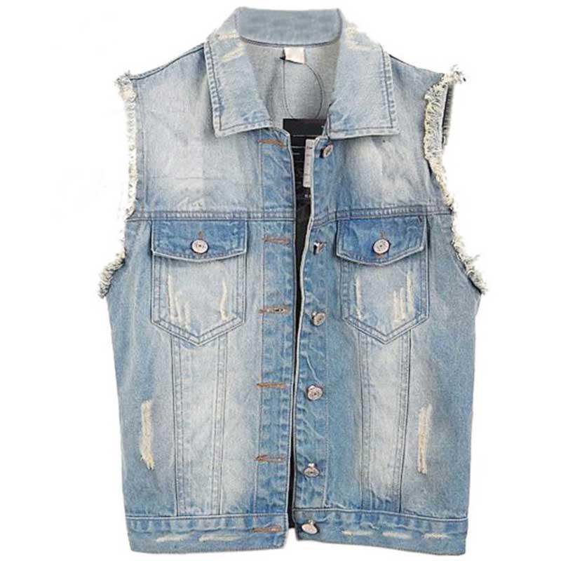 Online Get Cheap 2016 Spring Summer Denim Vest Jacket -Aliexpress ...