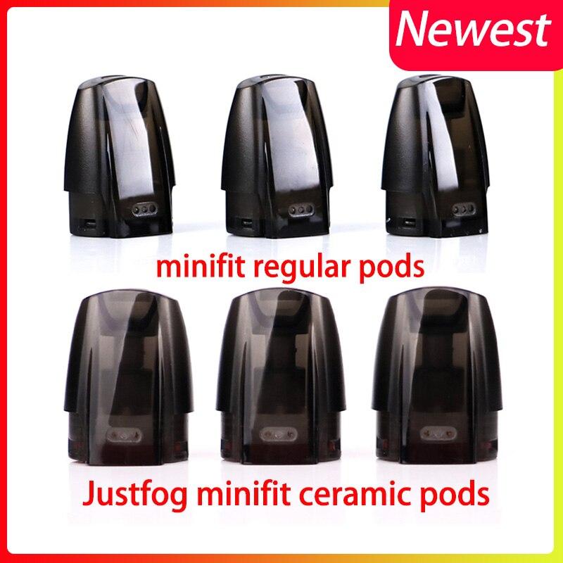 12pcs/lot Original JUSTFOG Minifit Pod 3 Units Fit For JUSTFOG Minifit Starter Kit Electronic Cigarette Accessory