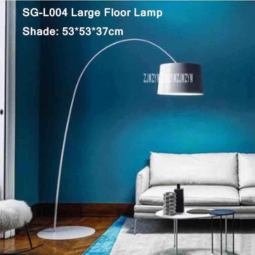 110 v/220 v Nordic Moderna Lampada Da Terra Creativo In Piedi LED ...