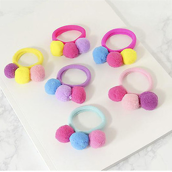1PC Fashion Lovely Girls Children Delicate Colorful Elastic Hair Band Hair Rope Hair Accessories 1