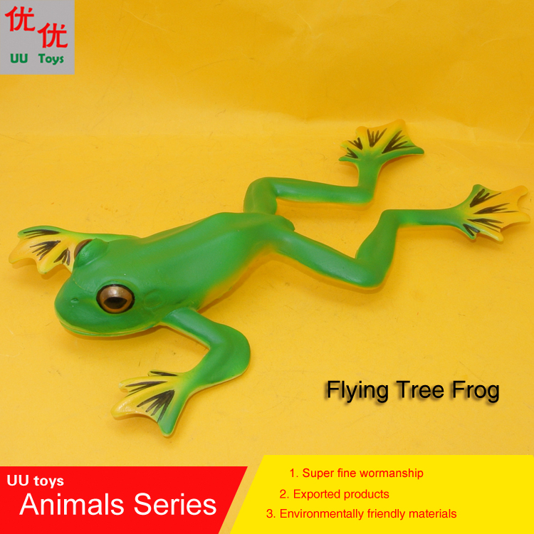 Kids Toys Simulation-Model Animals Educational-Props Frog Hot-Toys:flying-Tree Children