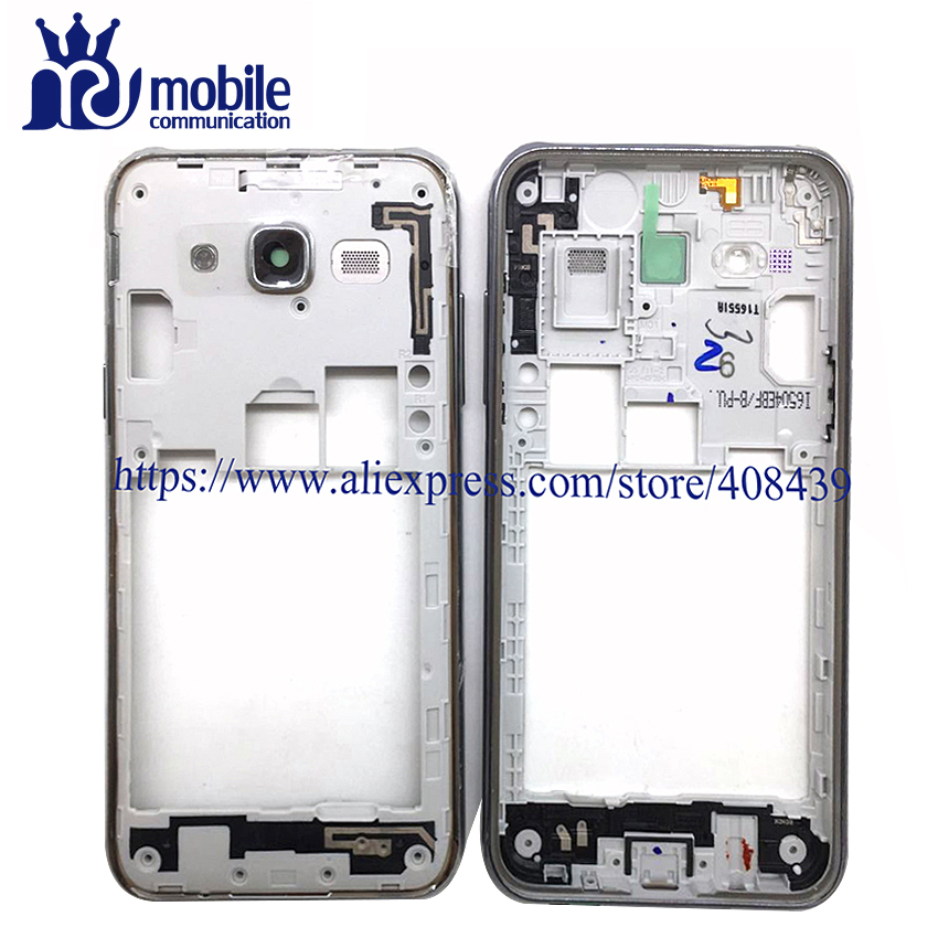 10pcs New J7 j5 Middle Frame Plate Bezel For Samsung Galaxy J5 J500 J500F J7 J700 J700F 2015 middle Housing Cover