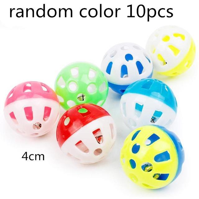 Игрушка-попугай для домашних животных, птица, полый колокольчик, шар для попугаев, кокаин, жевательные игрушки в клетке, 23 - Цвет: 10pcs