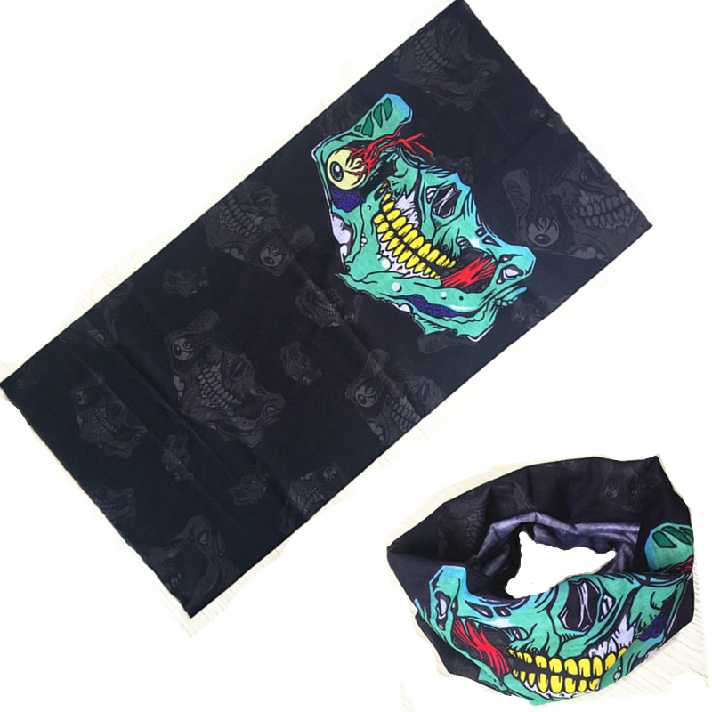 Army Headband Summer Clown Camo Paisley bandana ciclismo Camouflage Sport Bandana Bicycle Cycling Scarf Face Mask Headscarf