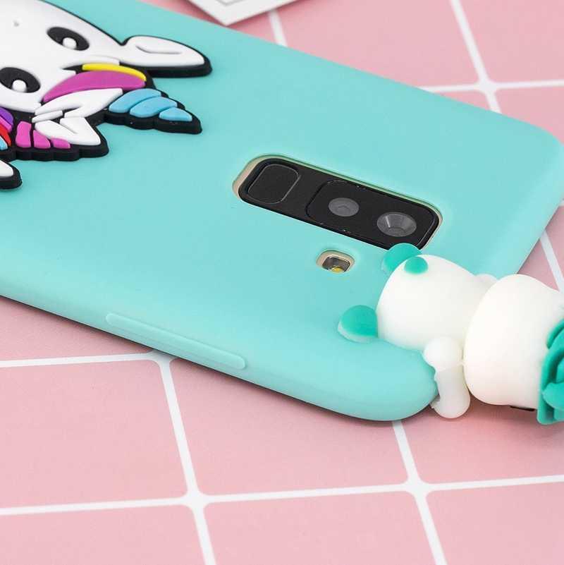 97271f7f9c ... 3D Case For Samsung Galaxy J6 2018 Case Panda Unicorn Pineapple Phone  Cases For Galaxy J6 ...