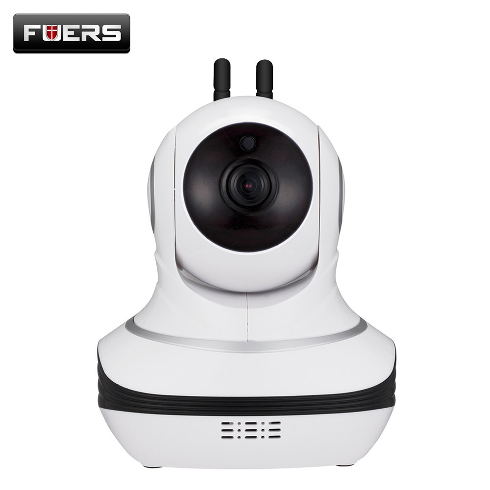 Fuers 1080p Wifi Ip Camera Home Security Surveillance Camera with Cloud Storage Night Vision Baby Monitor Mini Cameras Ip Cam 720p hd wifi camera p2p wireless baby monitor security camera cloud storage night vision camera compatible with sensor detector