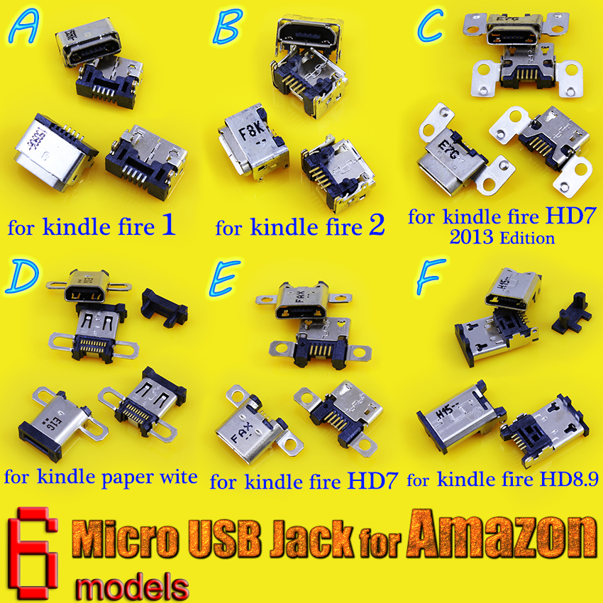 Various models USB Charging Port DC Power Jack plug Socket