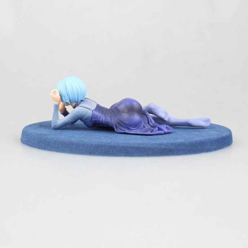 Baru Ayanami Rei Malam Pesta Gaun Seksi Anime Patung Neon Genesis Evagelion EVA Gambar Figurine Mainan