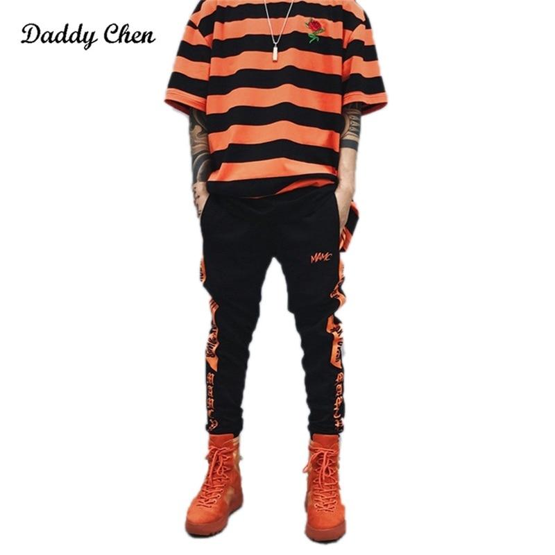 NEW Gothic Winter sweatpants for men hip hop Funny letter Print pants jogger Autumn trousers male cargo track Cotton sweat pants
