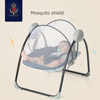 Baby rocking chair BB electric rocking chairs shaker can lie flat cradle to appease the rocking chair to coax sleep swing