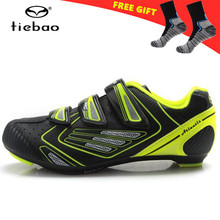 TIEBAO Outdoor Road Bicycle Shoes women zapatillas deportivas mujer Cycling Shoes Spinning Class Road Bike Shoes