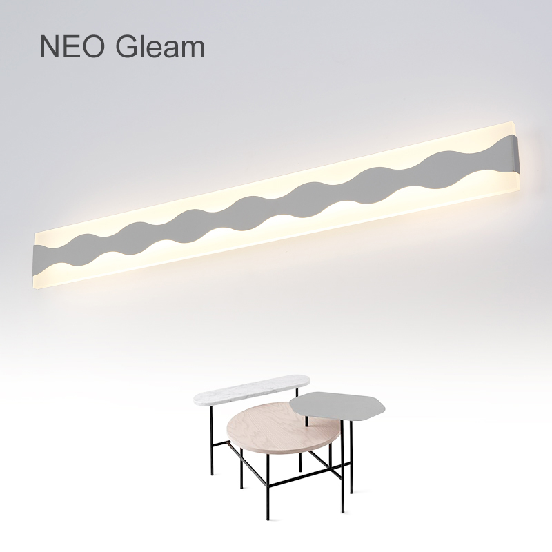 NEO Gleam Modern Anti-fog proof LED mirror lights dressing table/toilet/bathroom mirror front lamp, AC85-265 0.4-1.2m 8-24W m best price concise and fashionable mirror light led bathroom toilet mirror light moisture proof anti fog crystal wall lamp