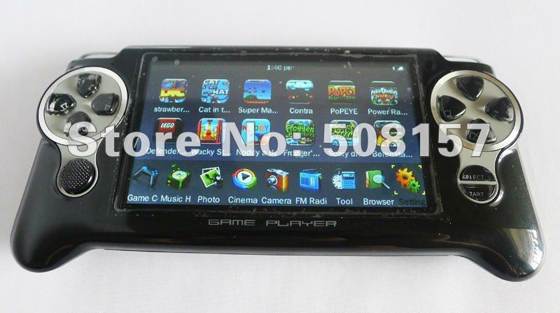 Free shipping New 8GB HDrive game player 3000 games 4 3  screen game     Thanks for your supporting and Have a nice Business in Our store    Free  shipping handheld game player