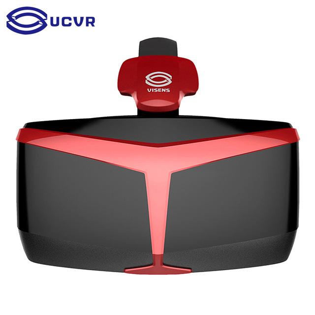 Wv 100% original ucvr engrenagem google papelão vr de óculos de realidade virtual para 4.7-5.7 vr ''smartphone para iphone samsung xiaomi