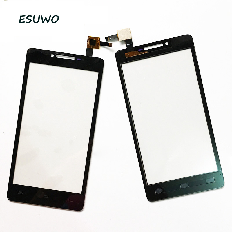ESUWO Touch Panel For Prestigio MultiPhone PAP5500 PAP 5500 DUO Touch Screen Digitizer Front Glass Len Replacement