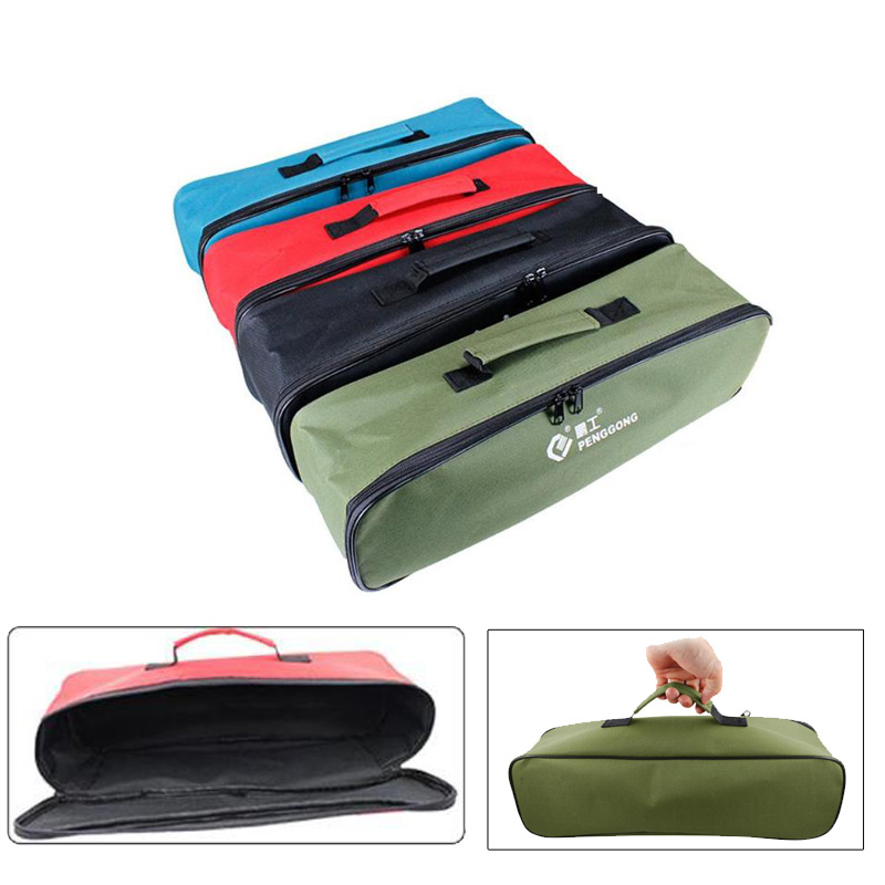 Penggong Portable Toolkit Storage Hand Tool Bag Wrenches Screwdrivers Pliers Metal Hardware Fittings Storage Bags Organizer