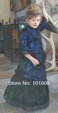 1860S Victorian Corset Gothic/Civil War Southern Belle Ball Gown Dress Halloween dresses  US 4-16 V-1288