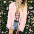 Washing Long Faux Fur Coat Fluffy Soft Fur Coat Women 2017 Warm Chic Female Outerwear Elegant Winter Jacket Hairy Party Overcoat