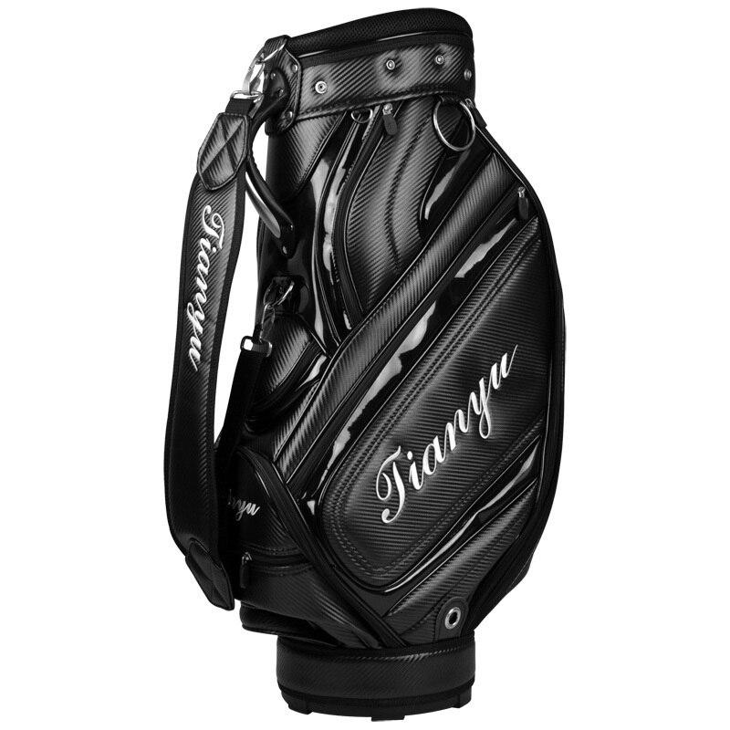 Waterproof Complete Golf Set Stand Bag Mens Anti-Friction Golf Caddy Bag Golf Cart Bag Staff Golf Package A7067