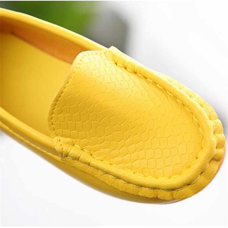 MHYONS เด็กสาวรองเท้าเด็ก Slip - on รองเท้า Loafers ฤดูใบไม้ผลิฤดูใบไม้ร่วงแฟชั่นรองเท้าผ้าใบสำหรับเด็กวัยหัดเดิน/ เด็กเล็ก/เด็กใหญ่