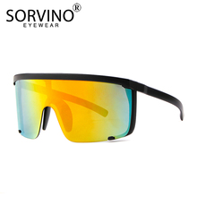 SORVINO Designer Oversized Visor Shield Sunglasses Women Men