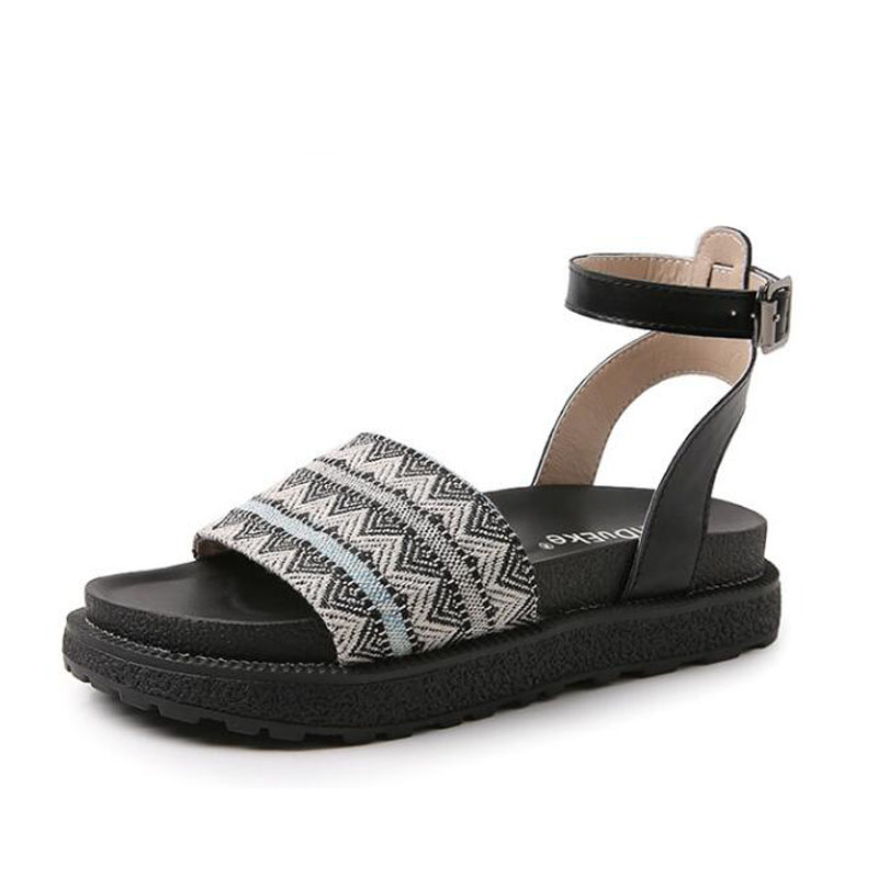 Damen Flache Gladiator Mit Frauen Sandalen Sandale Plattform Frau Muje schokolade Alias 2018 Schuhe Heels Schwarzes RzxwqtY