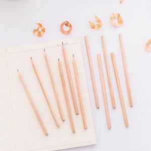 Image 5 - 100PCs/lot Eco friendly Cork Pencil HB Black Hexagonal Non toxic Standard Pencil Practical Sketch Pens Wholesale price