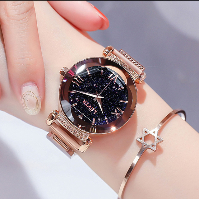 Magnetic Starry Sky Women's Watch 2018 Top Brand Luxury Women Bracelet Watch For Ladies Wrist Watch reloj mujer relogio feminino