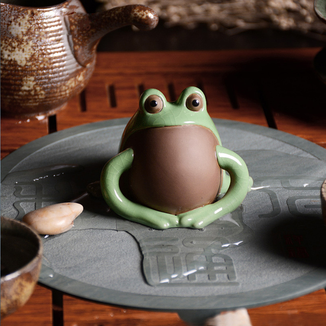 Green Clay Coffee and Tea Tool