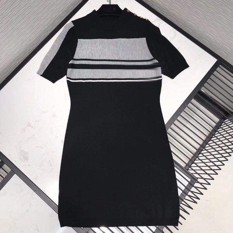Décontracté a-ligne robe femmes été mignon à manches courtes Mini Slim robe femme 2019 mode nouvelles femmes robe