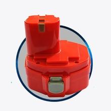 14,4 никель-металл-гидридный аккумулятор с напряжением аккумуляторная батарея pack2000mAh 3000 мАч для makita беспроволочный электродрель отвертка 6233D 6237D 6281D 6333D