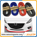 RASTP - Samurai 2.5M Rubber Lip Skirt Protector Car Scratch Resistant Rubber Bumpers Car Front Lip Bumpers Decorate LS-LKT006