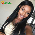 Brazilian Straight Hair With Closure Ear To Ear Lace Frontal Closure With Bundles Ali Express Julia Queen Love Hair Products
