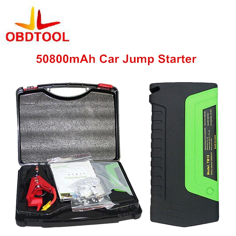Green Super Car Jump Starter Vehicle AUTO Engine Booster Emergency Start Battery Portable Charger Power Bank for Electronics delta pfc1212de 12038 12v 4 8a super car booster fan violence