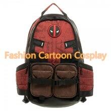 Marvel Comics Deadpool Backpacks Mochila Masculina Super Hero Movie Civil War School Laptop Bag Bagpack Unisex School Bucksack