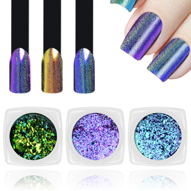 4 Colors Gorgeous Nail Art Dust Shinning Sequins Starry Sky Nail