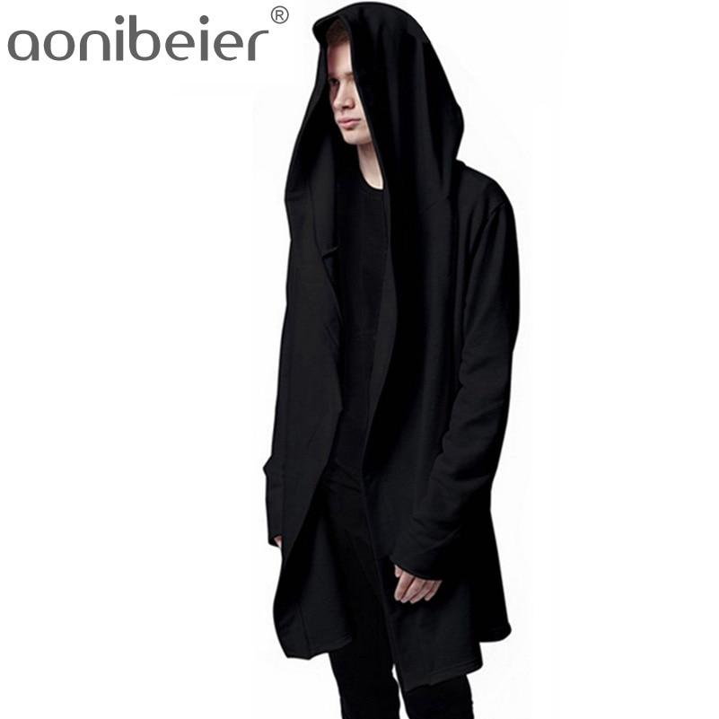 aonibeier Hooded Sweatshirts Hip Hop Hoodies Jacket Man's