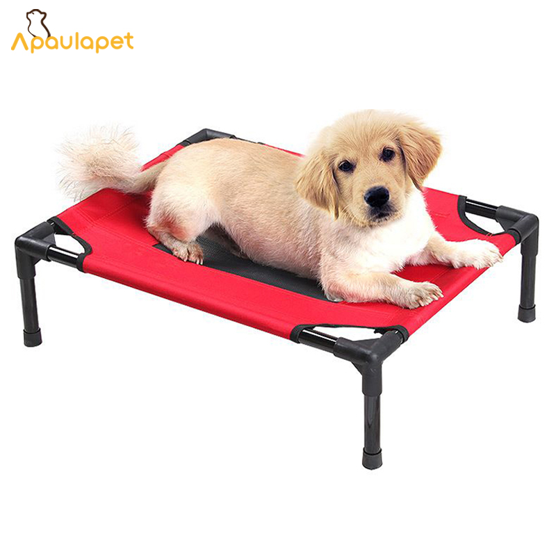raised kennel resistance cat p cot indoor c colors elevated derstadt pet steel bed frame largemedium new outdoor camping dog hdpe uv hammock