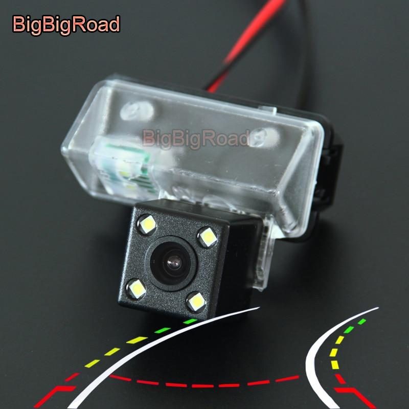 BigBigRoad トヨタ · ヴァーソ EZ 2011 カムリ 2012 2013 vios yaris 2013 車インテリジェントダイナミック軌道トラックリアビューカメラ  グループ上の 自動車 &バイク からの 車両カメラ の中 1
