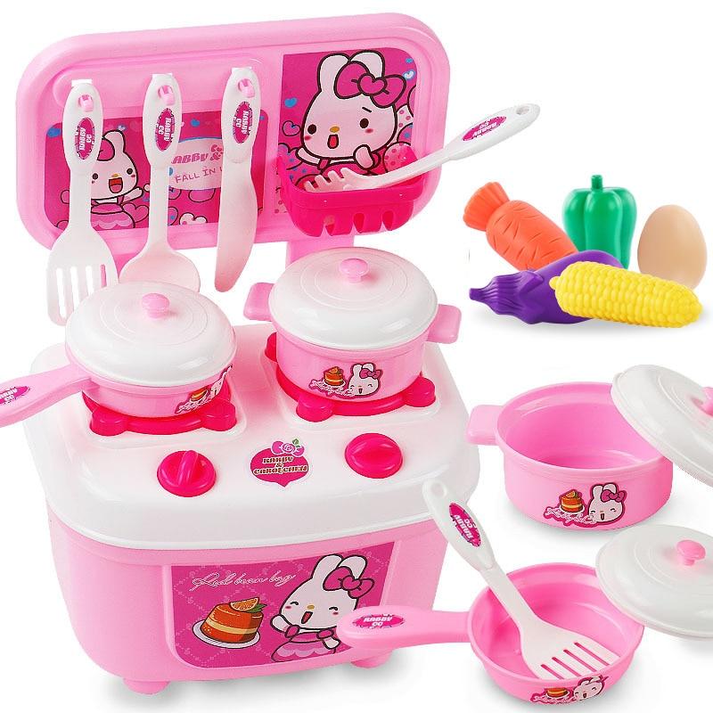 Alegria de Cozinha Cozinha Fruta Corte Aniversário Das Meninas Dos Meninos Crianças Pretend Play Toy Educacional