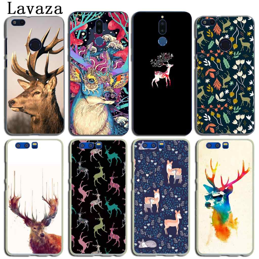 pattern giraffe Sika deer Case for Huawei Y9 Y6 Y7 Prime 2018 2019