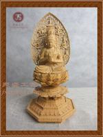 Mahavairocana/великий день Будда/Самшит резьба Будда/статуя Будды