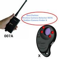 Mejor Pack de 2 Anti tapping GPS GSM WIFI G4 señal RF Automático Detector portátil de infrarrojo