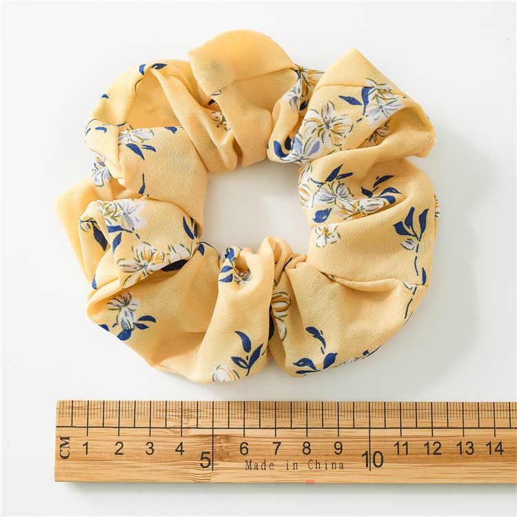 Fashion Frontier colors velvet women girls hair accessories rubber elastic rubber tape for female tie scrunchie tail holder