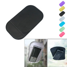2019 Car Gadget Styling Sticky Gel Pad Accessories Phone Holder Magic Dashboard Silicone Anti Non Slip Mat car accessories(China)