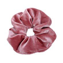 1Pc de moda suave de terciopelo gran goma elástica para el pelo gomas para mujeres niñas dulce cintas lisas para el pelo lazos cabello accesorios para el cabello