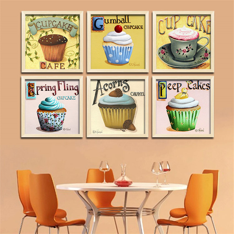 Fantastic Cupcake Canvas Wall Art Ensign - Wall Art Ideas - dochista ...