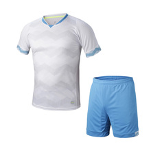 2016 2017 Men 16 /17 quick dry Training Sports T-shirts Adult football team kits soccer sets Breathable Running Jersey