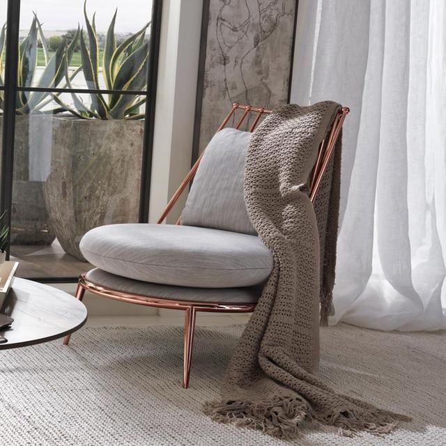US $680.0 |Cadeiras Sedia di Svago Sedia di Svago Sedie 2017 Promozione  Moderno Metallo Nessun Nuovo Design Soggiorno Reclinabile Salotto  Chairleisure ...