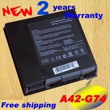 Pin máy tính xách tay G74S G74SX Đối Với ASUS A42 G74 G74JH G74 G74J G74SWG74SW A2